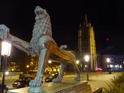 Norwich at night