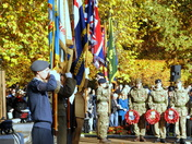 Remembrance Day Christchurch Park Ipswich.