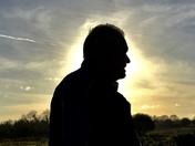 Phil stilluate against the sun