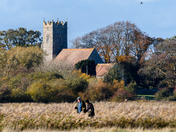 Wickhampton Church on Armistice day