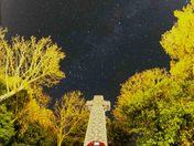 Milky Way over Harleston Memorial Garden