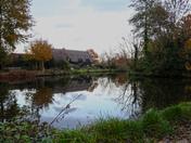 Flatford on an Autumn Monday afternoon