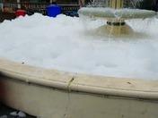 A little foam!