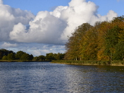 Autumn colours at Blickling Lake