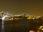 LIGHT TRAILS, BROOKLYN BRIDGE