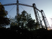 A GAS HOLDER ON GAS HILL