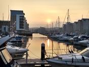 Beautiful Portishead Marina