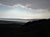 Steep Holm under dramatic skies