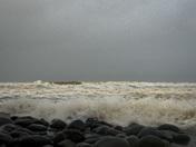 storm diana at westward ho