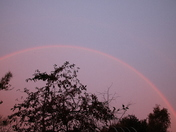 Autumn Sunrise: Rainbow