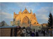 The magnificent Exeter Cathedral.