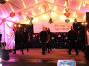 Turning on the Christmas lights in Barking