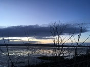Exe Estuary at dusk