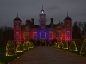 Christmas Lights At Blickling Hall