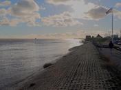 High Tide at Felixstowe Ferry