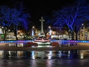Christmas lights in Exmouth