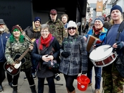 Busking with Mind the Gap