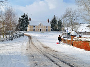 Hadleigh in the snow 28/02/2018
