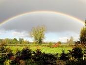 Rainbow over Bungay.