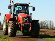 Suffolk Young Farmers Club Christmas Charity Tractor Run