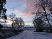 Winter in Woolpit.(photo challenge)