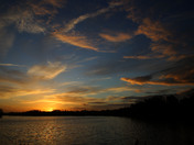 Sunrise over 'The Ocean'