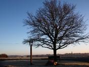 A Groton Christmas Day morning