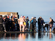 Clevedon Marine Lake's New Years Day Swim