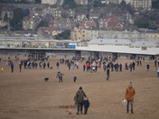 New Years Day at Weston Super Mare Seafront 2019