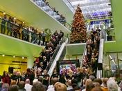 Christmas Carols at Willis Towers Watson 20/12/2018