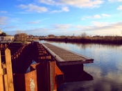 Pier on the Exmouth canal