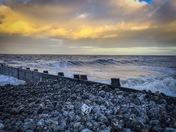 Waves at Cromer beach