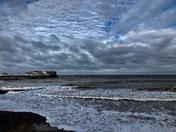 Cromer at high tide