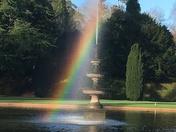 Bicton Gardens Rainbow
