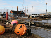 A cold Saturday at Felixstowe Ferry