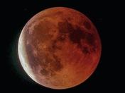 Blood moon over ranworth