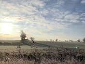A frosty day in Bungay.