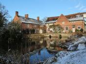 Flatford after the snow