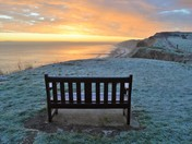 A winters morning in Mundesley