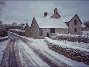Colyton in the snow
