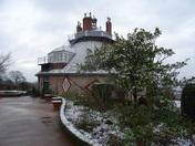 Wintery scenes from A La Ronde