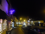 Honiton High Street, as seen on New Year's Eve 2012.