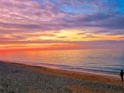 Sunset at Cromer Beach, Norfolk, U.K