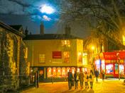 Full Moon Over Norwich, U.K