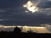 silhouette at Kirton.