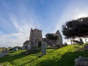 St Nicholas church Uphill