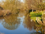 GLORIOUS MORNING FOR REFLECTIONS IN THE RIVER WENSUM