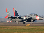 The D-Day anniversary F-15 at Lakenheath.