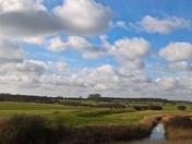 Kirton under Cloudy Skies