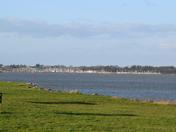 Levington Marina from Shotley.